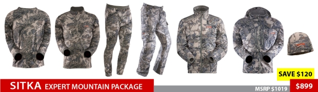 Sitka Expert Mountain Package